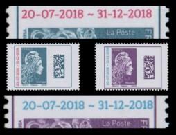 """Variété """"Marianne L'Engagée"""" DATAMATRIX Surchargé 2013-2018 - EUROPE + MONDE N** - Varietà E Curiosità"""