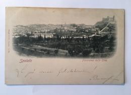 15824 Spoleto - Panorama Della Città - Perugia