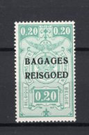 "BA2 MNH** 1935 - Spoorwegzegels Van 1923-31 Met Opdruk ""BAGAGES - REISGOED"" - Bagages"