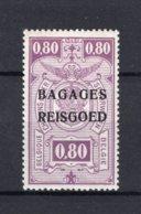 "BA8 MNH** 1935 - Spoorwegzegels Van 1923-31 Met Opdruk ""BAGAGES - REISGOED"" - Bagages"