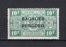 "BA19 MNH** 1935 - Spoorwegzegels Van 1923-31 Met Opdruk ""BAGAGES - REISGOED"" - Bagagli"