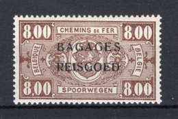 "BA17 MNH** 1935 - Spoorwegzegels Van 1923-31 Met Opdruk """"""""BAGAGES - REISGOED"""""""" - Bagagli"