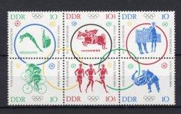DDR Yt. 742/747 MNH** 1964 - Unused Stamps