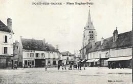 PONT SUR YONNE PLACE EUGENE PETIT - Frankrijk