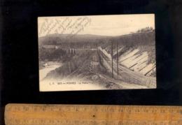 MORNEX Haute Savoie 74 : Le Viaduc Ferroviaire Chemin De Fer    //   Rare Cpa - Other Municipalities