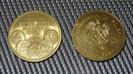180 Lat Bankowości 2009 POLAND - 2zł Collectible/Commemorative Coin POLONIA - Poland