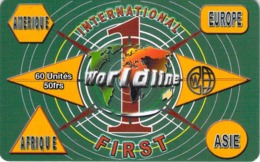 Carte Prépayée - WORLD LINE - France