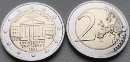 Estonia 2 Euro 2019 UNC > University Of Tartu - Estonia