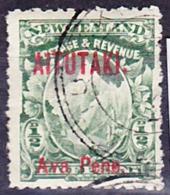 Aitutaki 1903 New Zealand Stamp With Overprint Mi 1 Used O, I Sell My Collection! - Aitutaki