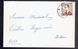 Lsc De N°1068 A ( P?) De * Offagne * 10-1-73  Vers Arlon - Marcophilie