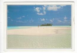 MALDIVES.- RIHVELI.- Coral Beach - Maldiven
