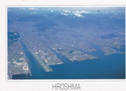 CPM 10X15 . JAPON . Hiroshima (Vue Aérienne ) - Hiroshima