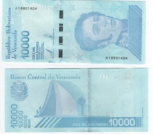 Venezuela - 10000 Bolivares 2019 UNC Lemberg-Zp - Venezuela