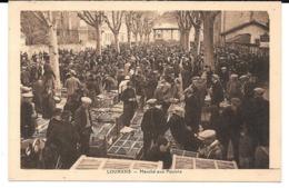 Cpa Louhans - Marché Aux Poulets . - Louhans