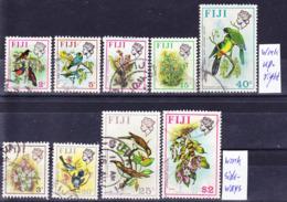 Fiji 1971-73 Definitives Lot Wmk Mult. St. Edwards Crown CA, See Wmk Position Descriptions! Used O - Fiji (1970-...)