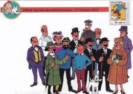 Illustration Tintin Journée Des Collectionneurs (29) - Cómics