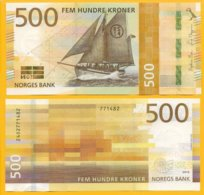 Norway 500 Kroner P-new 2018 UNC Banknote - Norvegia