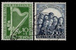 Berlin 072 - 73 Berliner Philharmonie  Used /  Gestempelt (6) - Berlin (West)