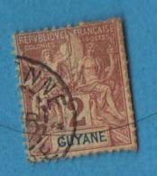 AB4 Guyane Française  31 Oblitéré - Usados