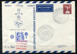 5333 - BERLIN - Luftpost-Ganzsachen-Umschlag, Bernina Ballonflug 1961 - Berlin (West)