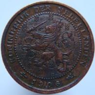 Netherlands 1/2 Cent 1906 UNC - 0.5 Cent