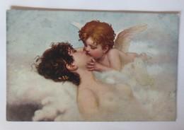 Künstlerkarte, Frauen, Erotik, Amor, Wolken,  1915 ♥ (47200) - Künstlerkarten