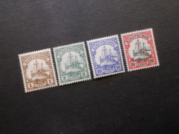 D.R.Mi 28 L*MLH/ 29b*MLH/ 31*MLH/ 32 Ll**MNH - Deutsche Kolonien (Kiautschou) 1905/1919 - Mi 8,40 € - Colonia: Kiautchou