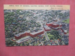 Aerial View General Electric Works   Indiana > Fort Wayne    Ref 3734 - Fort Wayne