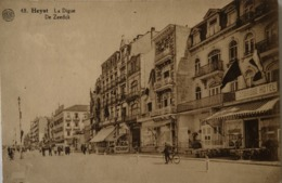 Heist - Heyst Sur Mer // LA Digue - De Zeedijk (Cambridge Hotel) 19?? Ed Albert. - Heist