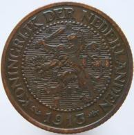 Netherlands 2 1/2 Cent 1913 XF / UNC - 2.5 Cent