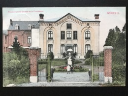 CPA Colorisée  De Juillet 1911 Wodecq Pensionnat Des Dames De La Providence Avec Quatre Enfants - Autres