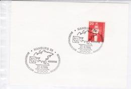 BRD.Mi:848 Sonderstempel: 2000 Hamburg 36.  23.6.1984 Asientag - Affrancature Meccaniche Rosse (EMA)