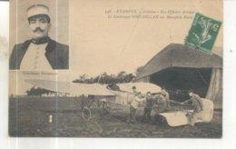 348. Etampes Aviation, Nos Officiers Aviateurs, Le Lieutenant Souleillan Sur Monoplan Bleriot - Etampes