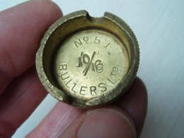 Bouchon De Grenade Anglaise 14/18 N° 5 Mk 1 BULLERS Ltd 10/16. - 1914-18