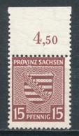SBZ 80 Y B ** Geprüft Dr. Jasch Mi. 10,- - Zona Sovietica