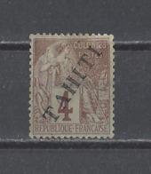 TAHITI.  YT  N° 9  Neuf *  1893 - Tahiti (1882-1915)