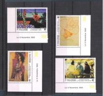 1993 - POLYNÉSIE  N° 445 / 448 NEUFS - ARTISTES PEINTRES  - LA FEMME    COTE 8.50 Euros - Enchère à 15 % De La Cote - Nuovi