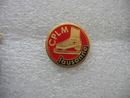 Pin's CPLM Lausanne (Club Des Patineurs De Lausanne & Malley). Chaussure Patin à Glace - Patinage Artistique