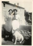 SAINT FLOUR LE PONT DU LANDU   1938  PHOTO ORIGINALE FORMAT 8.50 X 6 CM - Lieux