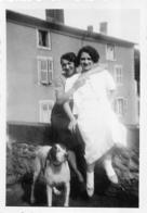 SAINT FLOUR LE LANDU   1938  PHOTO ORIGINALE FORMAT 8.50 X 6 CM - Lieux