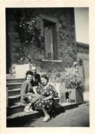 LEMPDES HAUTE LOIRE 1948 PHOTO ORIGINALE FORMAT 9 .X 6 CM - Lieux