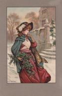 Martineau  Alice  ,  Il Mazzo Di Agrifoglio  -  Edit.  E. W. Savory, Bristol  -  No.  710 - Illustratori & Fotografie
