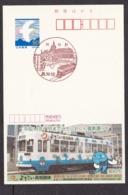 Japan Scenic Postmark, Tram (js3712) - Japan