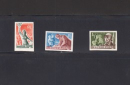 Hongrie. N° YT 976 à 978 Non Dentelés Valeur 60`euros. Série Pour La Paix. (3442) - Nuovi