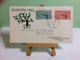 Irlande Europa 1962 (CEPT) - Èire - 17.9.1962 FDC 1er Jour - 1949-... Repubblica D'Irlanda