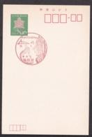 Japan Scenic Postmark, Monkey (js3845) - Japan