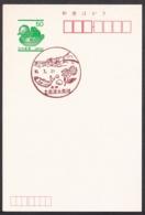 Japan Scenic Postmark, Fish Shell (js3847) - Japan