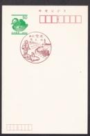 Japan Scenic Postmark, Ookuninushi Rabbit Lighthouse (js3851) - Japan