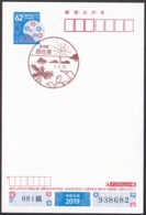 Japan Scenic Postmark, Turtle (js3862) - Japan