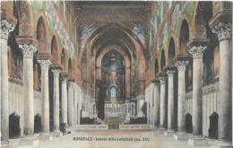 MONREALE - Interno Della Cattedrale ( Sec. XII) - - Palermo